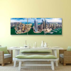 Home Decor Custom Modern Nude Girl and Boy Oil Painting pictures & photos