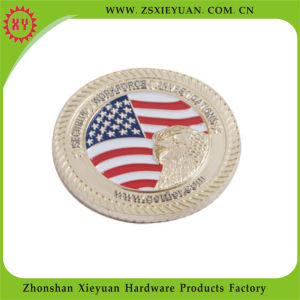 2015 Factory Direct Sale Custom Enamel Metal Coins pictures & photos
