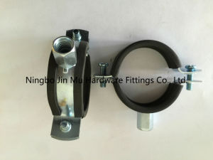 Rubber Lined Pipe Clamps 54 mm - 58 mm Size, Building Facilities Rubber Pipe Fittings pictures & photos