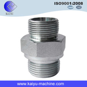 Hydraulic Steel Fitting Male Adaptor Connector pictures & photos