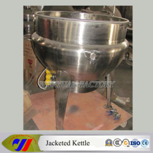 SUS304 Jacketed Vat Electric Heating Jacketed Kettle (DG50~DG600) pictures & photos