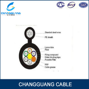 GYFTC8Y Outdoor Single Mode Self-Supporting Aerial Fiber Optic Cable