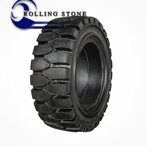 Cheap Chinese Forklift Solid Tires (5.00-8 6.00-9) pictures & photos