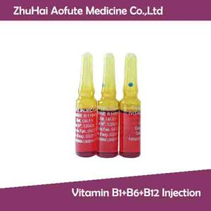 Vitamin B1+B6+B12 Injection for Health pictures & photos