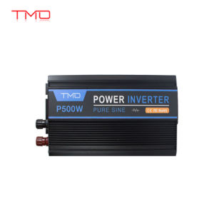 Full 500W Peak 1000W off Grid Pure Sine Wave 12V DC to 120V AC 60Hz Power  Inverter Converter for Home Car Use with LCD Display