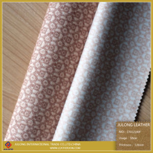 High Quality Cloth Fabric Leather for Shoe (CF012100F) pictures & photos