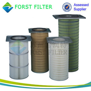 Forst Low Price Polyester Dust Air Filtration Cartridge Element pictures & photos