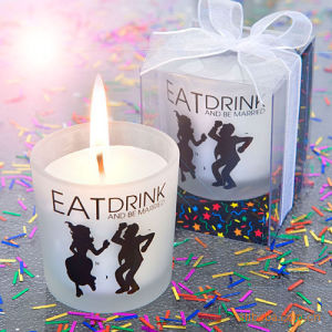 Glass Scented Candles for Valentine′s Day (HD-MCL-001A)