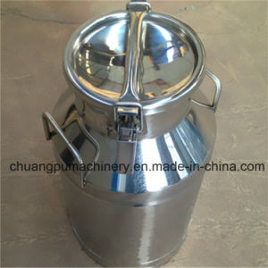 30liter Stainless Steel Milk Can for Pakistan Dairy Farms pictures & photos