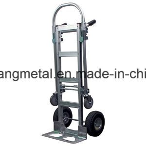 Heavy Duty 2 in 1 Junior Convertible Hand Truck 2 to 4 Wheeler Aluminum