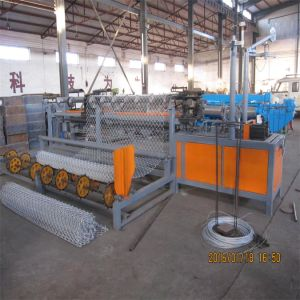 Fully Automatic Chain Link Fence Machine CNC Garden PVC Coated Wire Fencing Machine