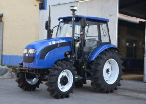 China 110HP 4WD Farm Tractor with Front End Loader pictures & photos