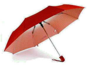 Stripe Rainbow Windproof Compact Umbrellas (YS-3FA22083961R)