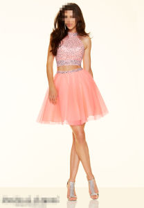 Pink Sexy Party Cocktail Evening Prom Dresses SD9365 pictures & photos