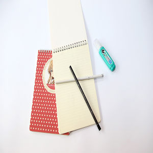 Cartoon Soft Cover Wire-O Notebook pictures & photos