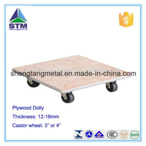 Hardwood Dolly with Carpet End
