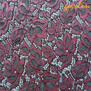 New Embroidery Elastic Lasce Fabric pictures & photos