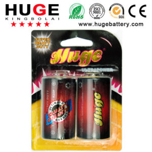 1.5V PVC Jacket D Size R20c Um-1 Carbin Zinc Dry Battery (R20) pictures & photos