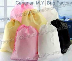 Customized Print Logo Non-Woven Shoe Packing Bag (M. Y. D-030)