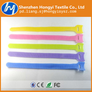 Nylon Elegant Soft-Hook & Loop Cable Tie pictures & photos