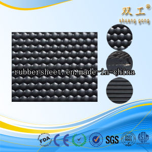 Small Stud Rubber Sheet/ Round Button Pattern Rubber Mat