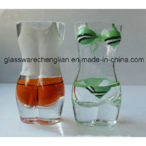 Hand Blown Girl Body Shaped Shot Glass (B-STG015) pictures & photos