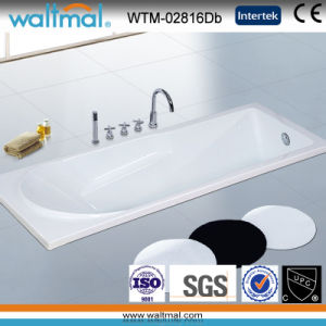 High Quality Cupc Simple Drop-in Bathtub (WTM-02816D) pictures & photos