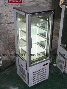 -25 Degrees Display Ice Cream Freezer with LED Lighting pictures & photos