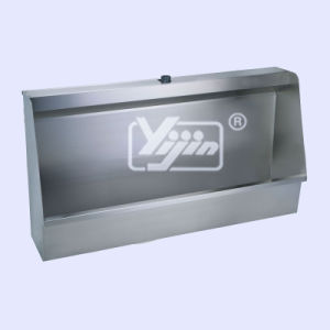 Hand Made Stainless Steel T-304 Wall Mounted Urinal Trough
