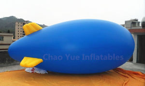 4m Advertising Inflatable Helium Blimp for Outdoor Celebration
