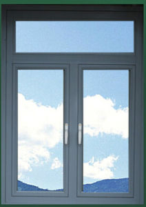 Good Quality Double Side-Hinged Aluminum Window with Better Price