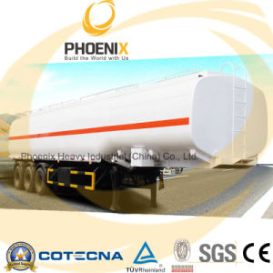 Factory Price 3axles 54000L Fuel Tanker Semitrailer pictures & photos