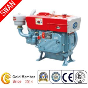China 23HP Single Cylinder 4 Stroke Small Diesel Engine