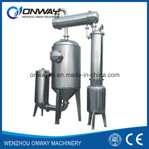 Jh Hihg Efficient Factory Price Stainless Steel Solvent Acetonitrile Ethanol Alcohol Vacuum Distillation Unit