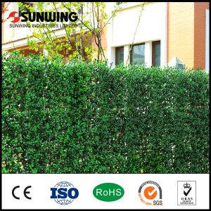 Garden Decoration Green UV Protected Artificial Leaf Fence Panels