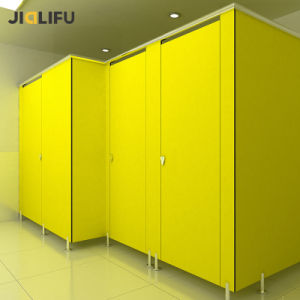 Fireproof Compact HPL Panel Toilet Partition for Office