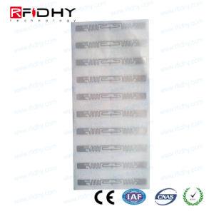 China EPC Gen2 9640 UHF RFID Adhesive Tag Alien H3 Chip