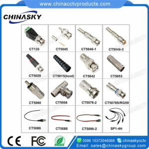 Hot Sell CCTV Coaxial Male BNC Connector with Screw Terminal (CT120) pictures & photos