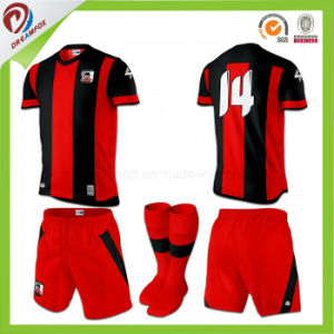 d77b8a6f6 Thai Quality Soccer Jersey Adult Sublimation Custom Cheap Soccer Uniform  Kits