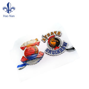 Fabric High Quality 100% Polyester Embroidery Patch pictures & photos