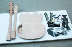 Hanhai Muisc / Double Neck Electric Guitar Kit / DIY Guitar pictures & photos