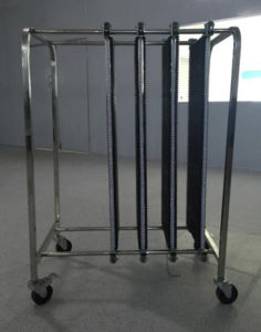 PCB Carriage Trolley for SMT Assembly Line pictures & photos