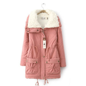 China Women Winter Jacket Parka Ladies Coat Collar Fur Women Coat