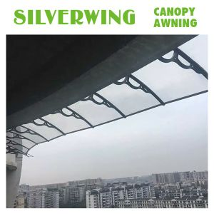 DIY Clear Plastic Window Covers Door Canopy With Polycarbonate Sheet (YY H)