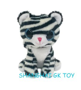 China Cute Plush White Tiger Forest Animal China Forest Animal