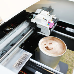 Focus Fairy-Jet PRO Flower Printer Edible Coffee Printer pictures & photos