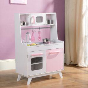 Modern Play Kitchen In Pink By Homestar