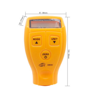 Mini Coating Thickness Gauge with Built-in F&NF Probe Digital Coating Thickness Gauge, Car Painting Thickness Gauge GM200 pictures & photos