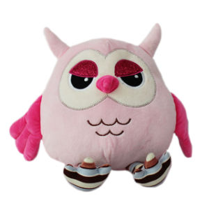 China Wholesale Baby Girl Pink Plush Toys Owl For Claw Machine