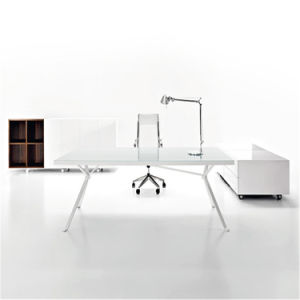 Tw Modern Design White Adjustable Office Desk, Computer Desk pictures & photos